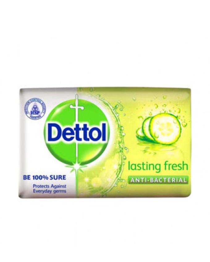 صابون دتول (Dettol) مدل  lasting fresh وزن (65gr)  تازه کننده خیار