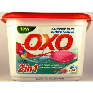 ژل بالشتکی شستشوی لباس 20 عددی اوکسو oxo