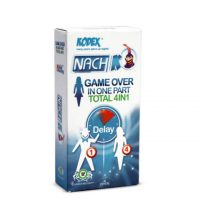 کاندوم Nach KODEX مدل (GAME OVER Total 4 in1 (delay
