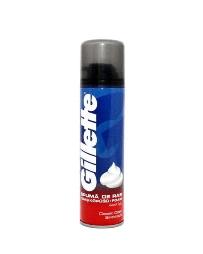 فوم اصلاح ژیلت (Gillette) 200ml کلاسیک