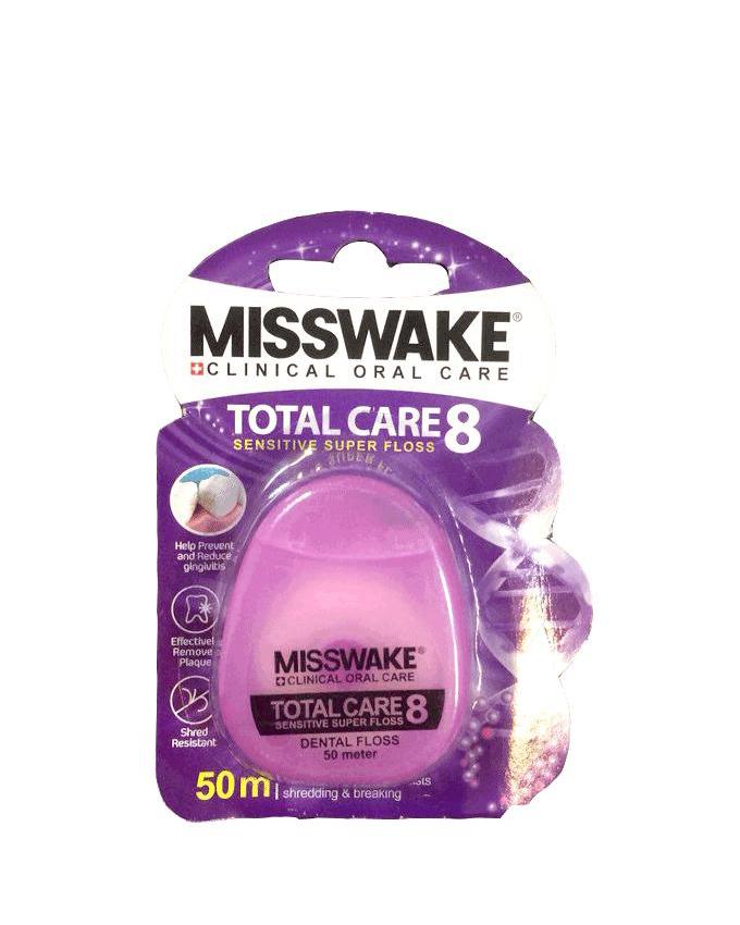 نخ دندان میسویک – MISSSWAKE مدل TOTAL CARE 8