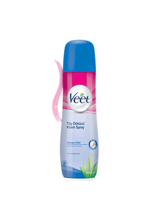 اسپری مو بر ویت مخصوص پوست حساس 150 میلی لیتر