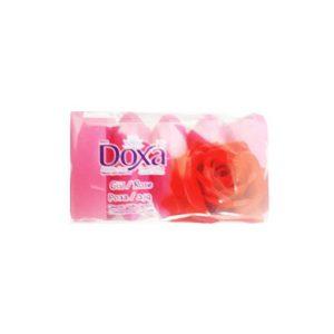 صابون 5 عددی دوکسا (DOXA) با رایحه گل رز 300 گرمی