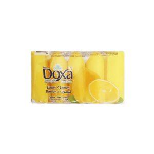 صابون 5 عددی دوکسا (DOXA) با رایحه لیمو 300 گرمی