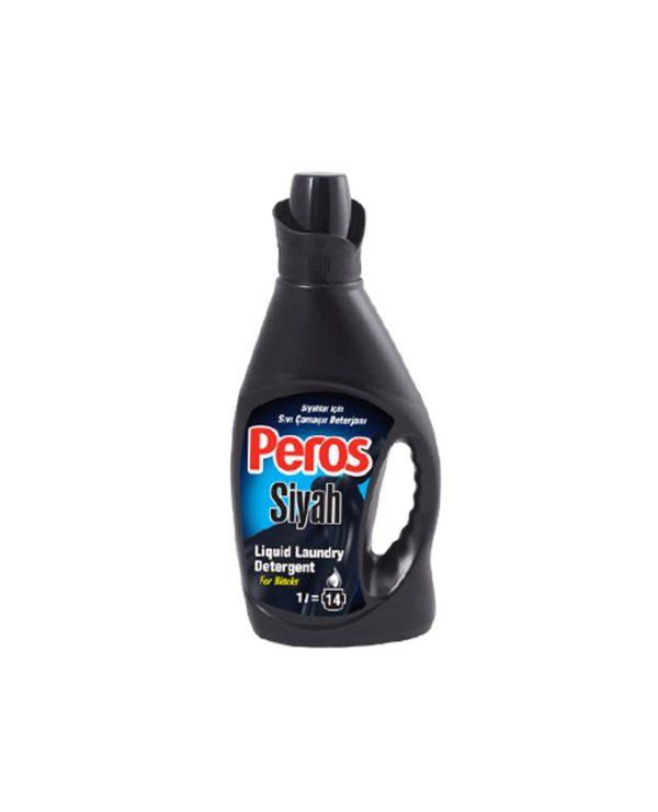 مایع لباسشویی پروس (Peros) مخصوص لباسهای مشکی 1 لیتری
