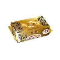 دستمال مرطوب رویال طلایی 120 برگی ROYAL