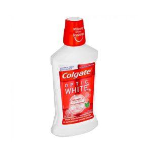 دهانشویه کلگیت Colgate مدل Optic White در حجم 500ml