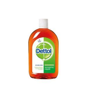 محلول ضدعفونی کننده دتول (Dettol) مدل کلاسیک (550ml)