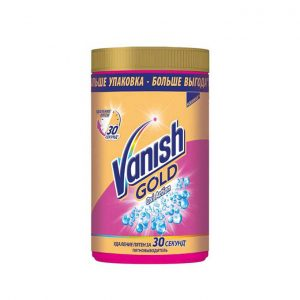 پودر لکه بر لباس ونیش vanish مدل Oxi Action Gold 1500g
