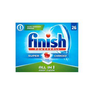 قرص ماشین ظرفشویی فینیش finish همه کاره 26 عددی