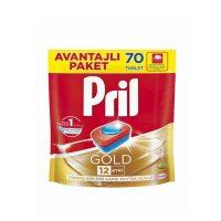 قرص ماشین ظرفشویی پریل (Pril) گلد 70 عددی
