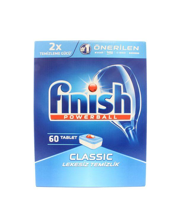 قرص ماشین ظرفشویی فینیش - finish کلاسیک 60 عددی