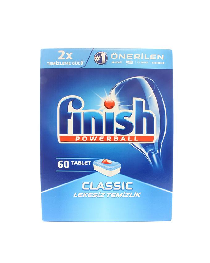 قرص ماشین ظرفشویی فینیش – finish کلاسیک 60 عددی