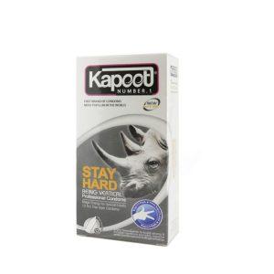 کاندوم تاخیری کاپوت مدل Stay Hard بسته 12 عددی