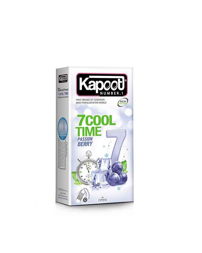 کاندوم کاپوت مدل 7Cool Time بسته 12 عددی
