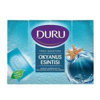 صابون حمام دورو DURU  بسته 4عددی رایحه اقیانوس