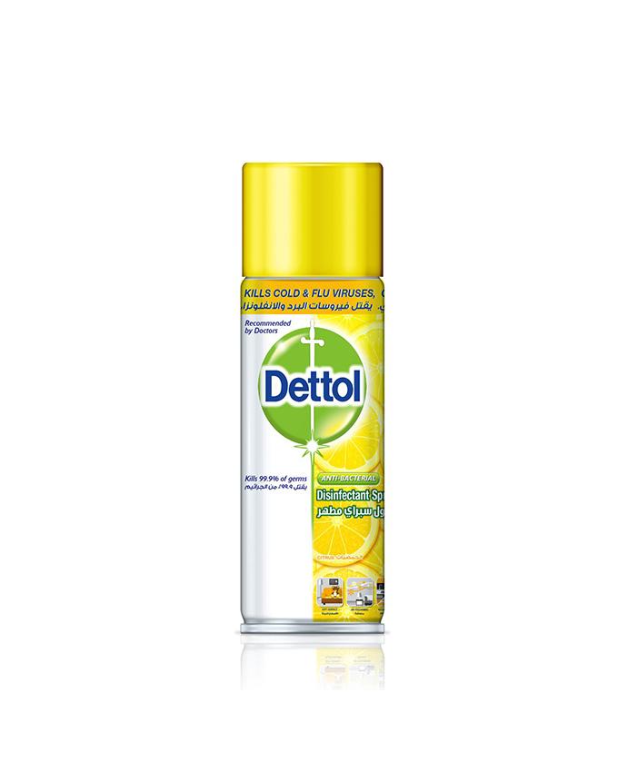 اسپری دتول ضد ویروس کرونا Dettol رایحه لیمو حجم 450 میلی لیتر