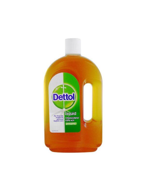 محلول ضدعفونی کننده دتول Dettol مدل کلاسیک (750ml)