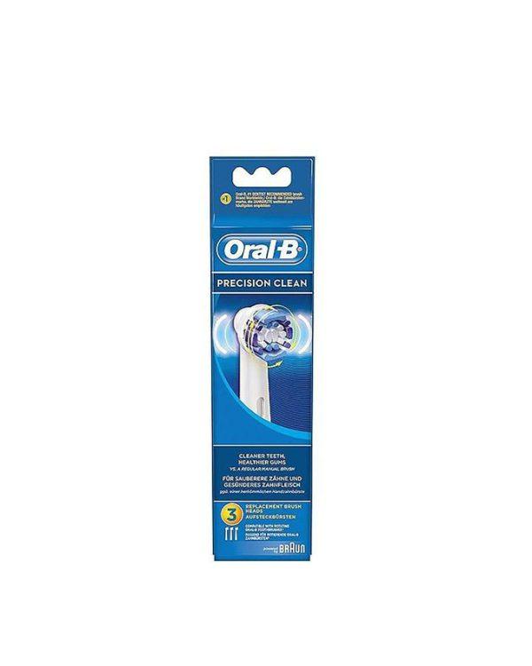 سری یدک مسواک برقی اورال بی Oral-B مدل Precision Clean دو عددی