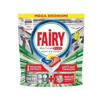 قرص ماشین ظرفشویی فیری Fairy مدل پلاتینیوم پلاس 75 عددی