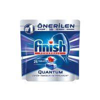 قرص ماشین ظرفشویی فینیش Finish مدل کوانتوم 25 عددی