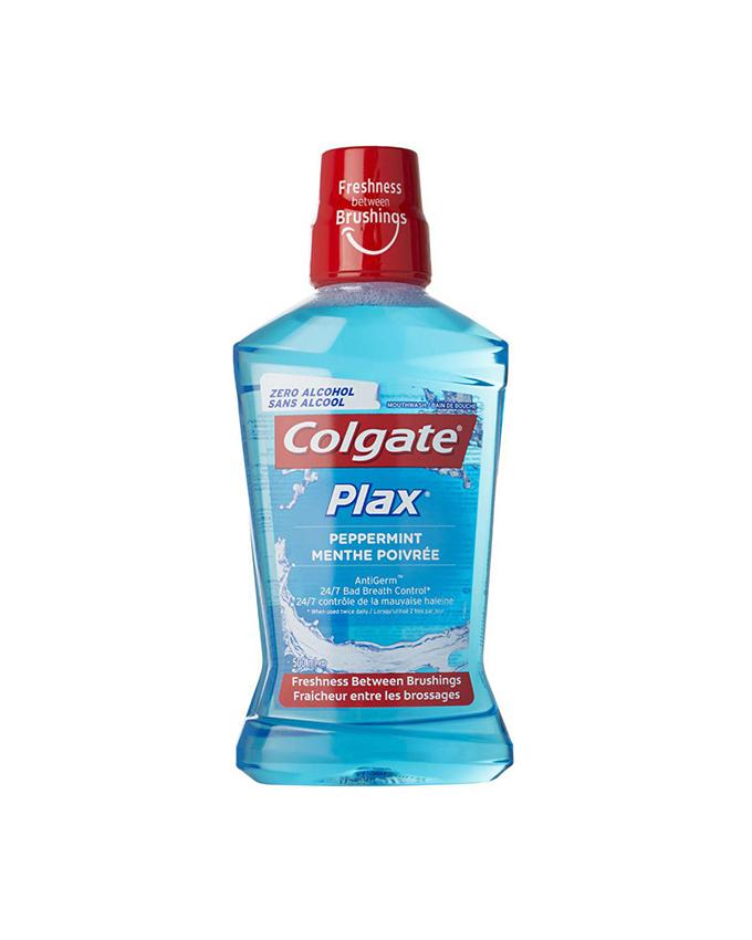 دهان شویه کلگیت – Colgate سری Plax مدل Peppermint حجم 500 میلی لیتر