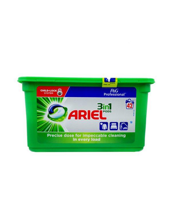 قرص ماشین لباسشویی آریل سه کاره 42 عددی محصول آلمان