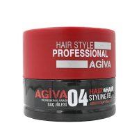 ژل موی سر آگیوا - agiva شماره04 سفت کننده حجم 700 میلی لیتر