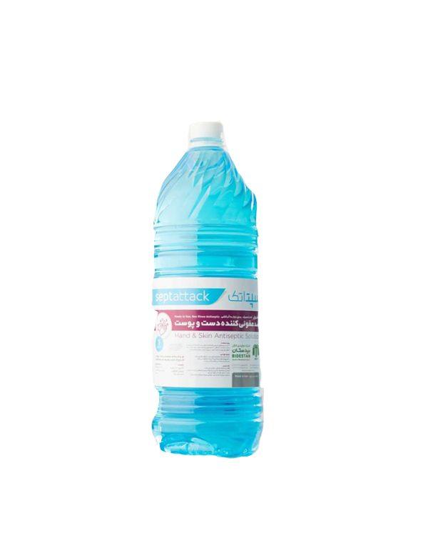 محلول ضدعفونی کننده ۳ لیتری پوست و دست بیدستان