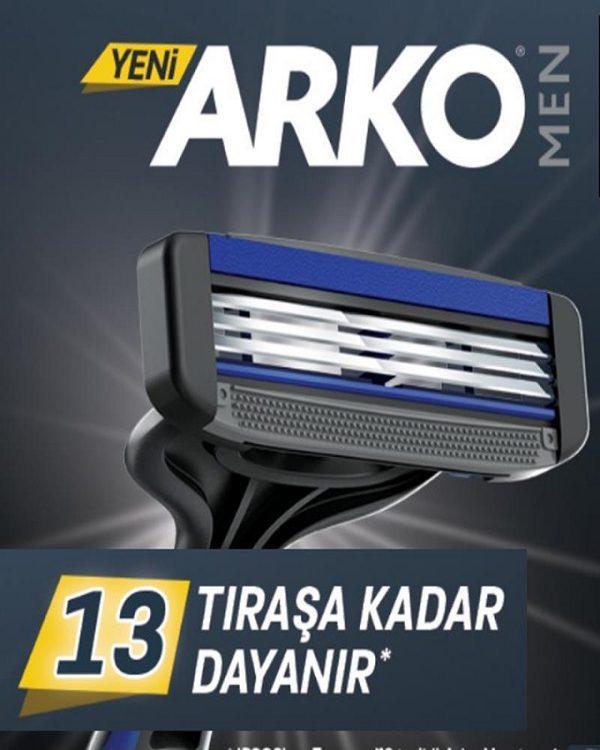 تيغ  آركو - ARKO مدل سه لبه كارتی