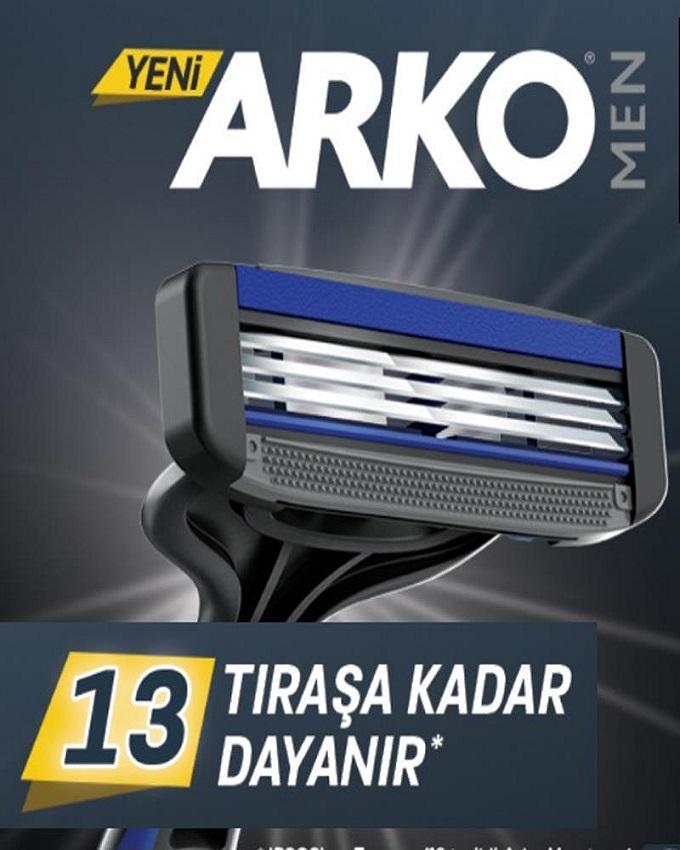 تیغ  آرکو – ARKO مدل سه لبه کارتی