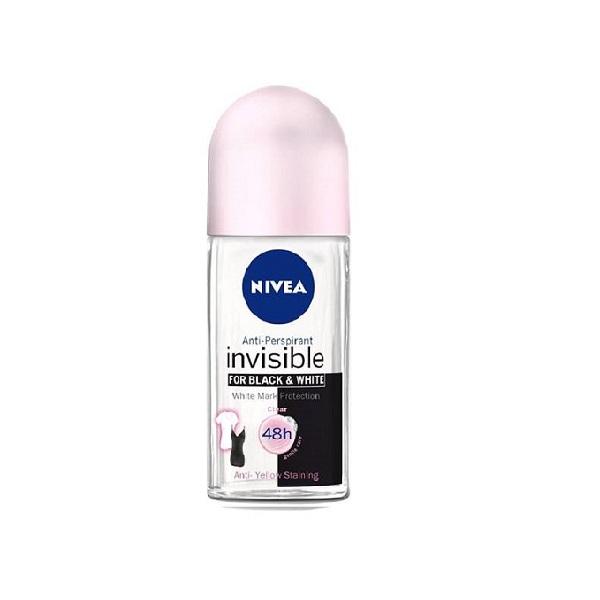 رول زنانه نیوآ – NIVEA مدل Invisible B & W با حجم 50ml