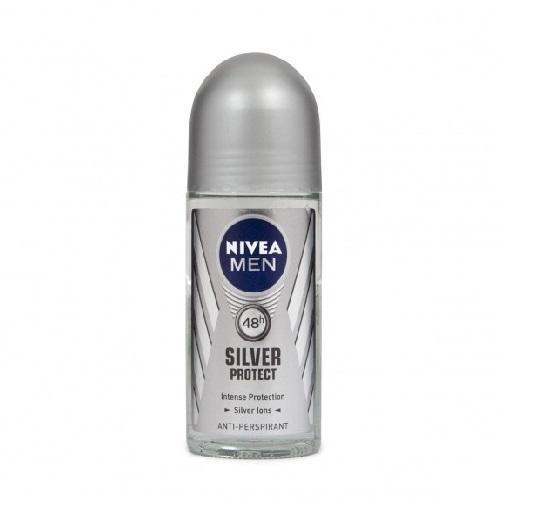 رول مردانه  نیوآ – NIVEA مدل Silver Protect با حجم 50ml