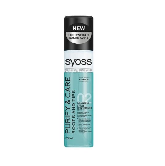 سرم مو دوفاز سایوس – Syoss مدل Purify&Care با حجم 200ml