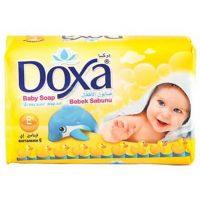 صابون بچه دوکسا - Doxa زرد رنگ با وزن 90 گرم