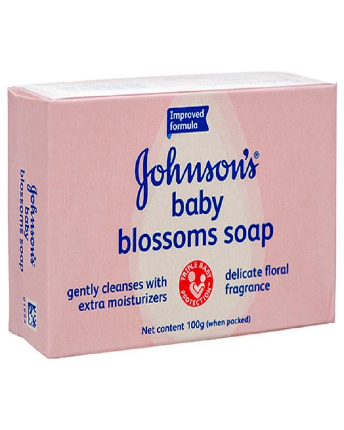 صابون کودک جانسون – johnson's مدل پاکتی صورتی 100g