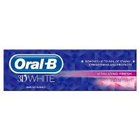 خميردندان اورآل بی- Oral-B مدل 3D WHITE Vitalizing Fresh با حجم 75ml
