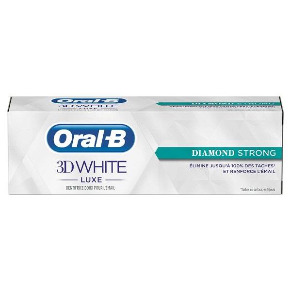 خمیردندان اورآل بی – Oral-B مدل3D WHITE سفید 75ml