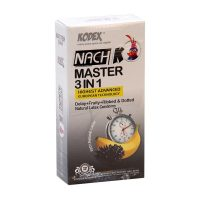 كاندوم نچ كی - NACH K مدل Master 3in1
