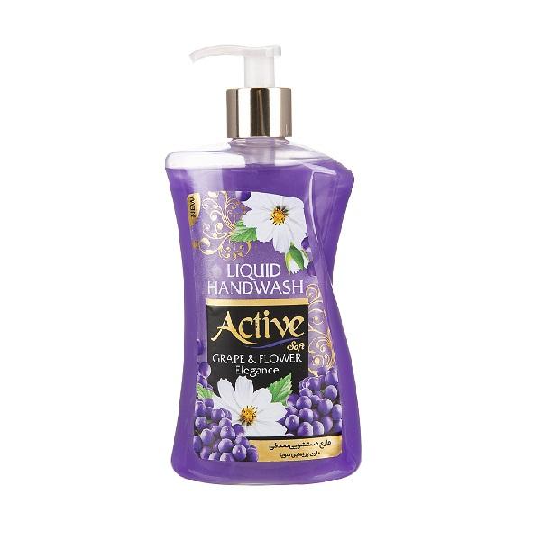 مایع دستشویی  اکتیو – Active مدل Grape & Flower با وزن 450g