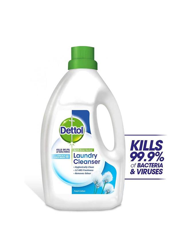 مایع ضد عفونی کننده لباس دتول (Dettol) با رایحه پنبه حجم (4l)