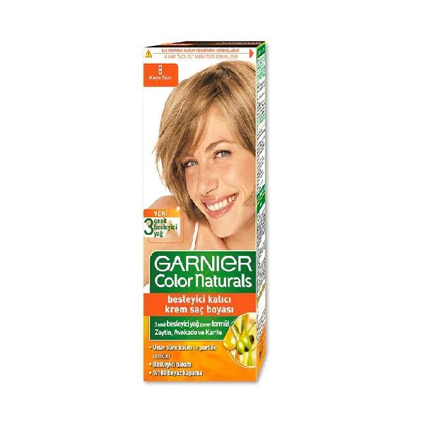 کیت رنگ مو گارنیه – Garnier بلوند تیره شماره 8
