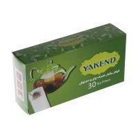 فيلتر يكبار مصرف چای و دمنوش 60عددی ياكند - YAKEND