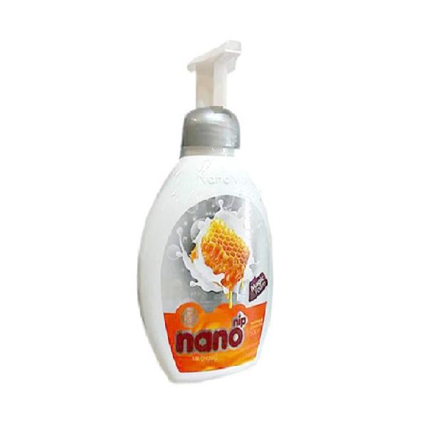 مایع دستشویی فوم شیر و عسل  نانونیپ – nano nip با وزن 500gr