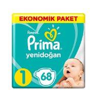 پوشك كودك پريما - Prima سايز 1 حاوی 68 عدد