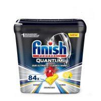 قرص ماشین ظرفشویی فینیش کوانتوم مکس84 عددی با رایحه لیمو