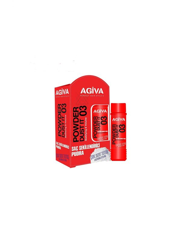 پودر حالت دهنده مو اگیوا – AGIVA مدل EXSTRONG STYLING حجم 20 گرم