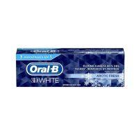 خمیر دندان اورال بی مدل 3D WHITE مدل Artic Fresh حجم 75 میلی (Oral-B)