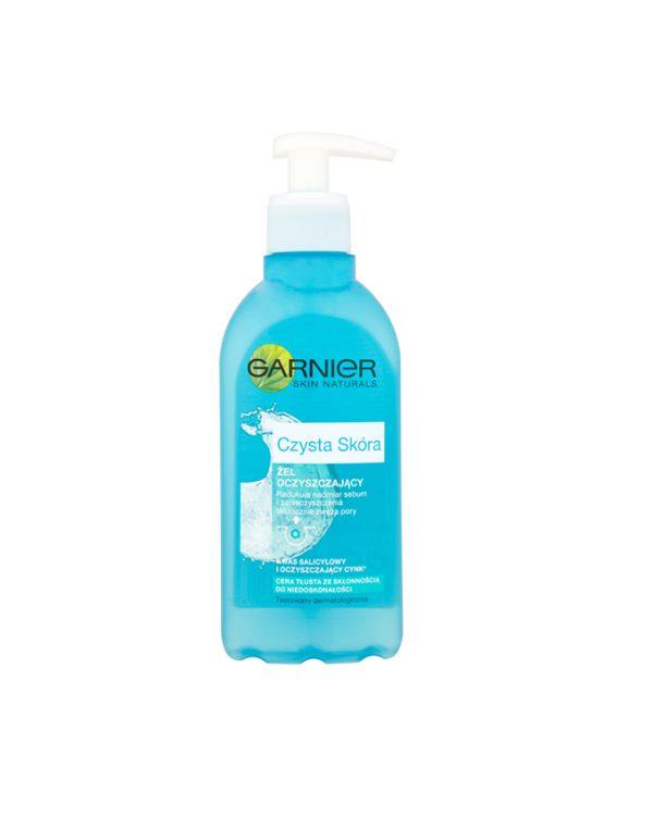 ژل آرایش پاک کن پمپی گارنیه حاوی عصاره آلوئه ورا و هیالورونیک اسید حجم 200 میل