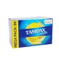 تامپون کامپکس مدل Compak Regular تعداد 36 عددی (Tampax)